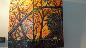 La peinture reproduite sur l'album