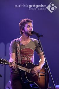 Steve Veilleux, chanteur du groupe Kaïn