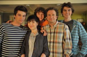 Joey Scarpellino, Anne Dorval,Louis-Philippe Beauchamp, Daniel Brière, Raphaël Grenier-Benoît