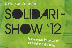 Solidari-Show 19avril 2012 Le Sac à Dos