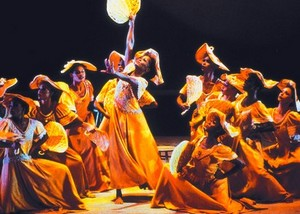 """""""Révélations"""" chorégraphie d'Alvin Ailey"""