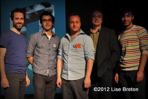 Quelques metteurs en scènes accompagnant Frédéric Dubois, Jean-Philippe Joubert,Raphaël Posadas,Michel Nadeau et Alexandre Fecteau