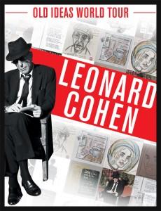 Leonard Cohen - 2e concert le 29 novembre au Centre Bell