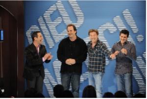 José Gaudet, Paul Piché, Vincent Graton, Patrice Bélanger