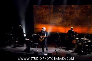 Daniel Lavoie et les musiciens