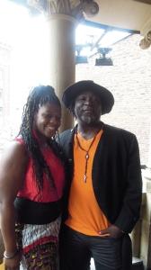 Charly Yapo et la chanteuse Dasha