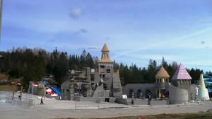 La construction du Mirage actuellement en cours