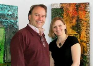 Marc Bellemare et Isabel Picard