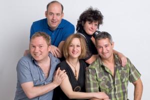François Maranda, Antoine Vézina, Catherine Lachance, France Pilotte et Jean Petitclerc