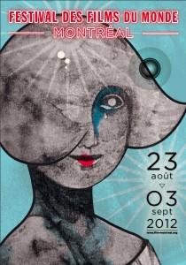 L'affiche du Festival des Films du Monde 2012