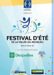 Festival d'été de la Vallée-du-Richelieu!