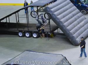 Pirouette en BMX