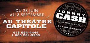 The Man In Black – Hommage à Johnny Cash, de retour au Théâtre Capitole tout l'été 2012