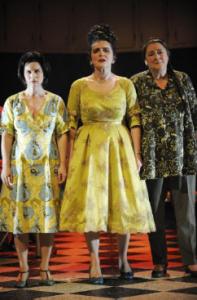 Guyaline Tremblay, Marie-Thérèse Fortin et autre comédienne