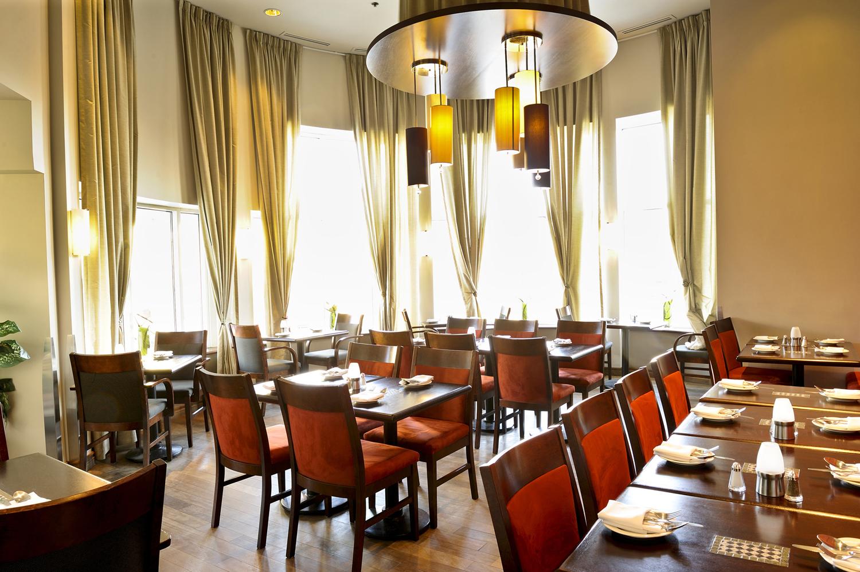 Une des salles du restaurant!