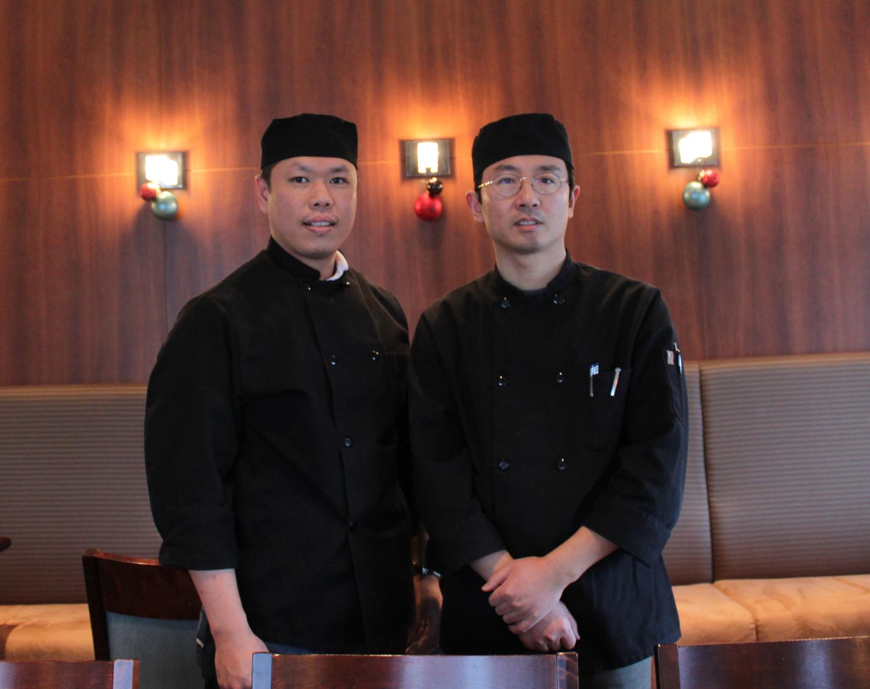 Les chefs propriétaires Haifeng Li et Tang Hang Ngoan