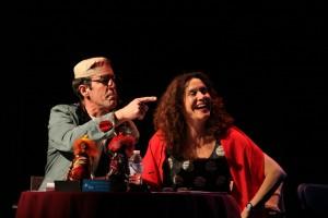 Alain Dumas et Tammy Verge