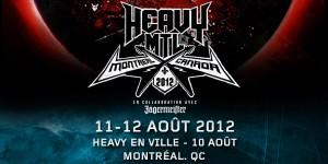 HEAVY MTL - 11 et 12 août - Montréal