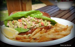 La fameuse guedille au homard
