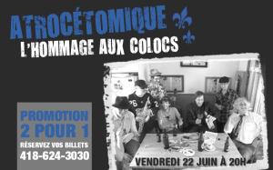 Célébrer la Saint-Jean-Baptiste à LaScène Lebourgneuf! Hommage aux Colocs le 22 juin 2012