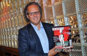 Gilles Morais fondateur du magazine