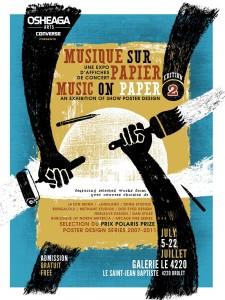 OSHEAGA Arts présente Musique sur papier  - 5 au 22 juillet