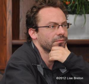 le réalisateur Christophe Cousin