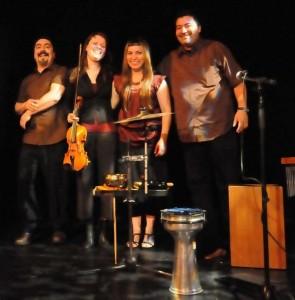 Le Gesù présente le concert du groupe en résidence Surkalén