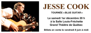 Jesse Cook en spectacle le samedi 1er décembre au Grand Théatre de Québec