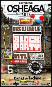 OSHEAGA Arts présente le Block Party - 9 juin