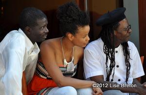 Ousmane Gueye, Marième et Papa T