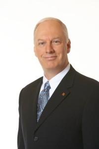 Monsieur René Proulx, président-directeur général d'Exceldor et président  d'honneur du tournoi