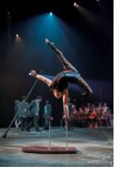 La nouvelle cuvée de 24 finissants de l'École nationale de cirque