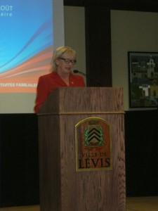 Madame la mairesse Danielle Roy Marinelli