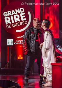 Gala animé par Sylvain Larocque et Claude Legault