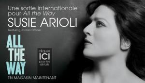 Susie Arioli | Une sortie internationale pour All the way