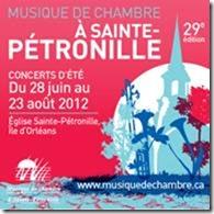 La 29e saison de Musique de chambre à Sainte-Pétronille... début le jeudi 28 juin