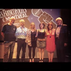 La remise du Prix Felix-Leclerc de la chanson 2012 !