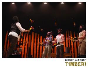 Le Cirque Alfonse à la salle Odyssée de Gatineau - vendredi 15 juin