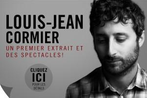 Louis-Jean Cormier   un premier extrait et des spectacles !
