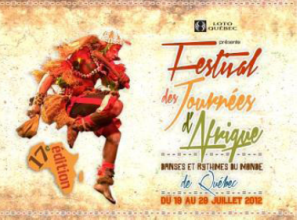 17e Festival des journées d'afrique ce jeudi 19 juillet au Cercle !