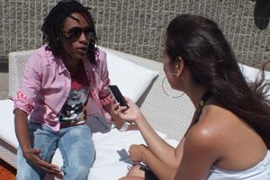 Shirley Souagnon en entrevue avec la journaliste Hanane Hadjloum !