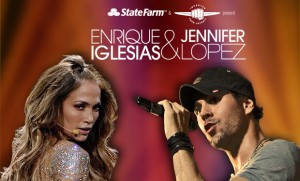 Enrique Iglesias - Jennifer Lopez  au Centre Bell