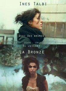 Ines Talbi et La Bronze en doublé!