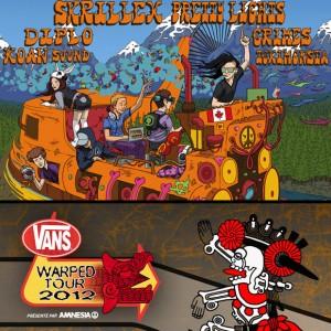 Vans Warped Tour et Skrillex-Ce week-end au Parterre de l'Île Notre-Dame