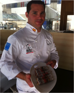 Le chef exécutif du restaurant Table, François Privé