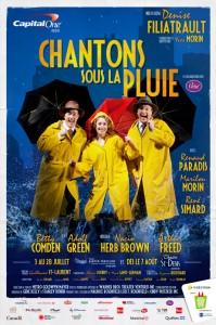 Chantons sous la pluie: Le spectacle en supplémentaire dès 7 août au Théâtre St-Denis 1