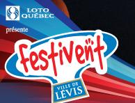Festivent Ville de Lévis : la prévente se termine demain!