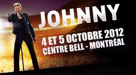 Johnny Hallyday sera au Centre Bell en octobre!