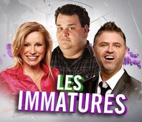 Gala les Immatures animé par Cathy Gauthier, Philippe Laprise et Dominic Paquet